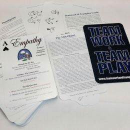 Teamwork & Teamplay card-based activity pack from Jim Cain