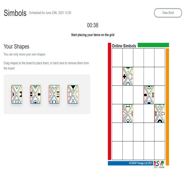 Simbols (online version) demo webinar recording